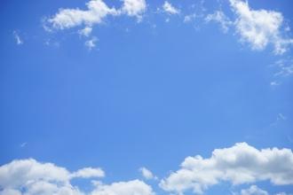 배경 사진용 - 하늘