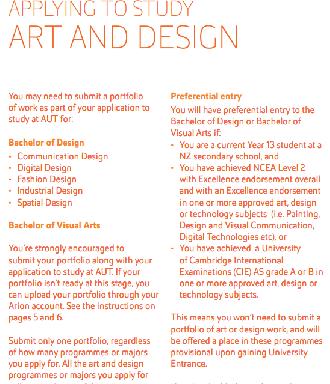 Art-Design-portfolio-guidelines